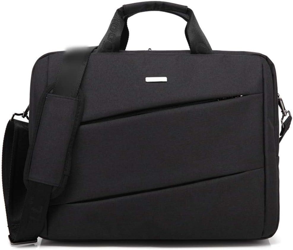 ALLCIAA 15-inch Computer Bag Shoulder Bag Waterproof Business Handbag 3 Colors Can be Choose Color : Black, Size : 14inch