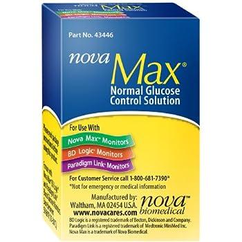 Amazon Com Nova Max Control Solution Health Amp Personal Care