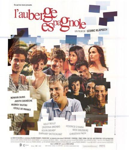 Amazon Com Pop Culture Graphics L Auberge Espagnole Poster French 27x40 Romain Duris Judith Godr Che Audrey Tautou Prints Posters Prints