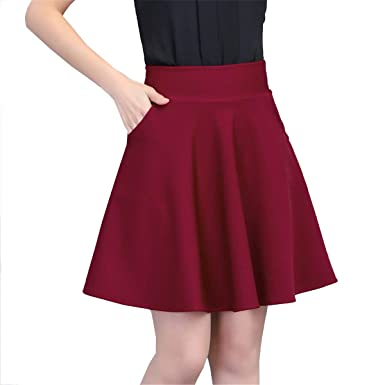 Señoras Hombres Faldas Falda Mini Elegante Elástica Kilt Cintura ...