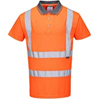 Portwest RT22 - Hi-Vis S/S Polo, color naranja, talla XSmall