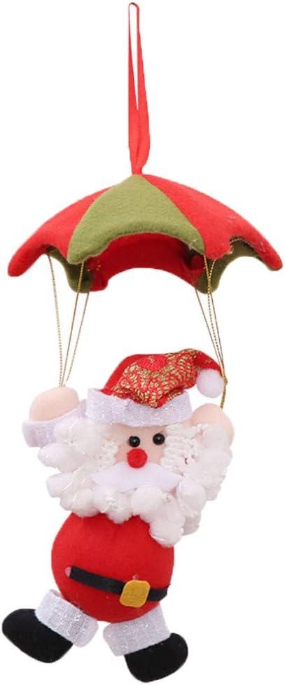 Xmas Tree Santa Claus Snowman Hanging Ornament Christmas Home Party Door Decor H