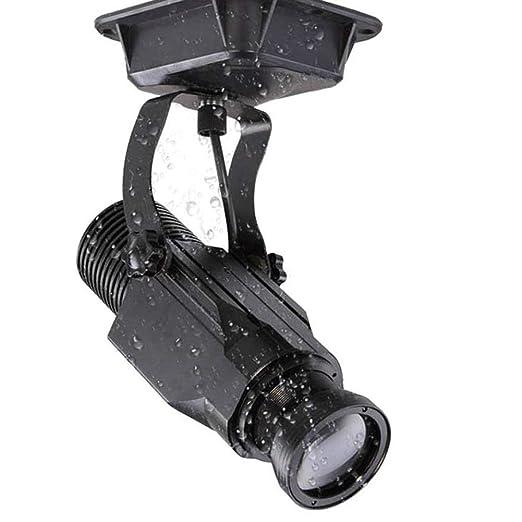 AHWZ GOBO del LED Luz del Proyector Proyector De La Insignia ...