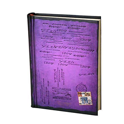Tinksky Journal Diary Hard Cover Diary Notebook Journals Notepad - Size L (Purple)