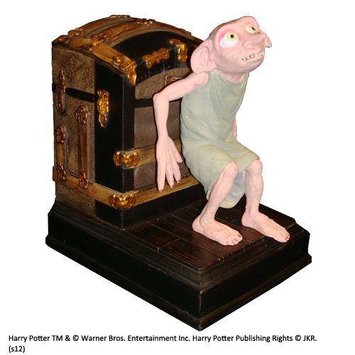Noble Collection Dobby Bookend (Single) B00D7BNO2K Statuen Modern     | Fuxin