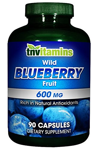 90 Fruits Radical Capsules (Wild Blueberry Fruit 600 Mg - 90 Capsules)