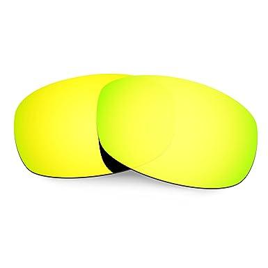 HKUCO Mens Replacement Lenses For Costa Brine 24K Gold/Titanium/Purple Sunglasses IIHSO7LbAp