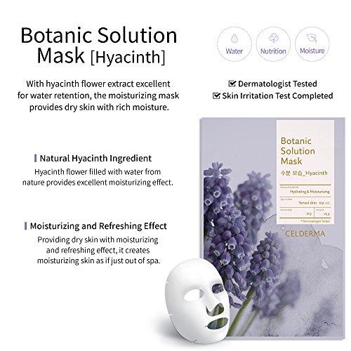 Celderma Premium Mask 9 Solution Facial Masks