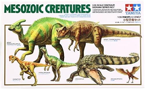 Tamiya 601071:35 Mesozoic Creatures/Age of - Usa Series Military Trains