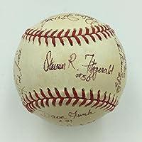 Rare Major League Movie Cast Signed Baseball 20 Sigs With David Keith JSA COA