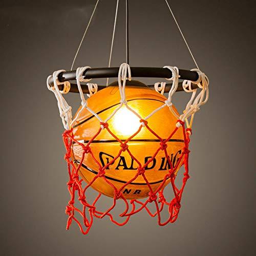 FidgetGear Basketball Pendant Light Glass Ceiling Lamp Retro Suspension Chandelier Fixture by FidgetGear (Image #5)