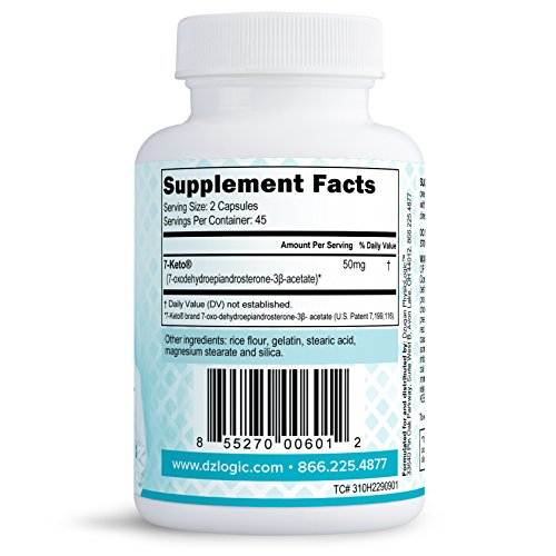 Dr. Dzugan's ADVANCED 7-Keto DHEA Formula :: Non-GMO, Gluten Free, GMP Certified! :: 50mg 90 Capsules :: Energy, Metabolism