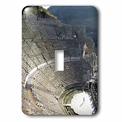 3dRose LLC lsp_51667_1 Ephesus Theatre Bouleuterion, Ephesus, Theatre, Stage, Travel, History, Ancient, Turkey Single Toggle Switch by 3dRose