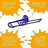 pBone Mini Plastic Trombone with Mouthpiece and