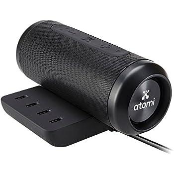 atomi sound hub portable bluetooth wireless. Black Bedroom Furniture Sets. Home Design Ideas