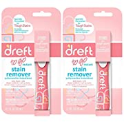 Dreft Baby Laundry Instant Stain Remover Pen, 0.7 Fluid Ounce (Pack of 2 Travel To-Go Pens)