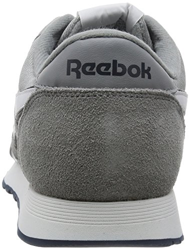 Reebok Mens Classic Sneaker Grigio / Bianco