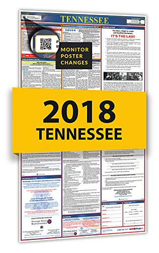 New 2019 Tennessee All-In-One Labor Law Posters for Workplace Compliance supplier
