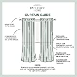 Exclusive Home Curtains Loha Linen Grommet Top