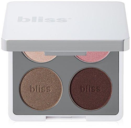 bliss Hey Four Eyes 4 Piece Eyeshadow Palette, Rose Quad, 0.24 oz.