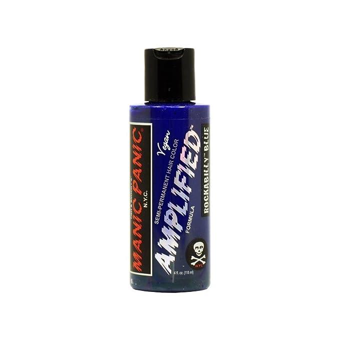 5 opinioni per MyPartyShirt Rockabilly Blue Amplified Manic Panic 4 Oz Hair Dye Squeeze Bottle