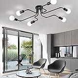 ZEEFO Flush Mount Ceiling Light Modern Art