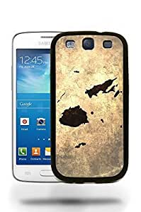 Fiji National Vintage Country Landscape Atlas Map Phone Case Cover Designs for Samsung Galaxy S3