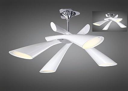 Mantra 0921 Pop - Lámpara de techo (E27, 230 V), color cromo ...