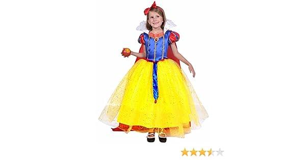 César - Disfraz para niña Blancanieves, talla T3 (F327-003)