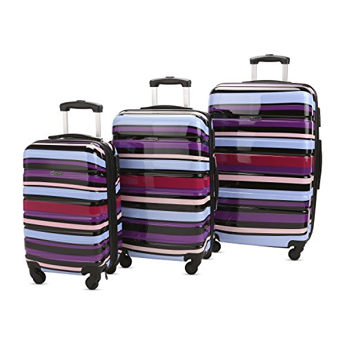 3 PC Luggage Set Durable Lightweight Hard Case pinner Suitecase LUG3 PC76 Designer line 2
