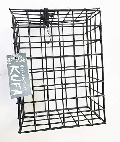 KUFA Vinyl Coated Wire Bait Cage (Size:8