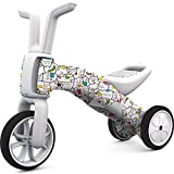 Chillafish Bunzi Fad Edition 2-in-1 Gradual Balance Bike and Tricycle, Fad Edition: Catmouflage
