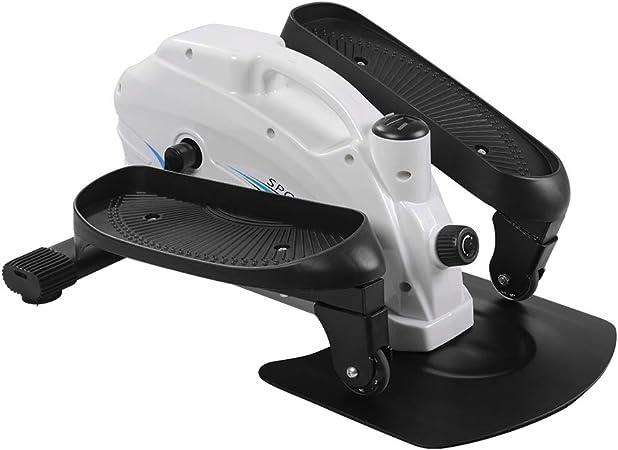 Cross Trainers HOMCOM Mini Manual Elliptical Bike w/LCD Monitor ...
