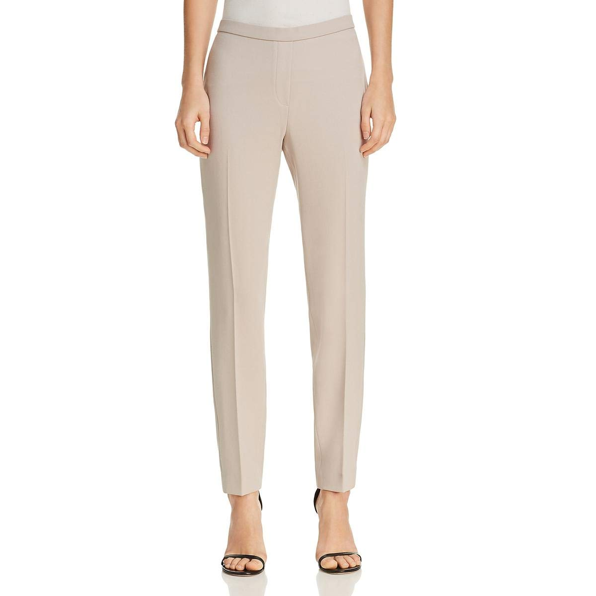 Bamboo Elie Tahari Womens Marcia Office Wear to Work Straight Leg Pants