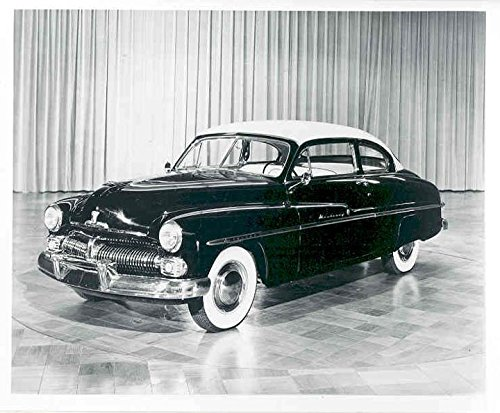 1950 Mercury Monterey Club Coupe Factory Photograph 1950 Mercury Coupe
