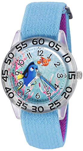 Disney Girl's 'Finding Dory' Quartz Plastic and Nylon Watch, Color:Blue (Model: W003016) -  eWatchFactory