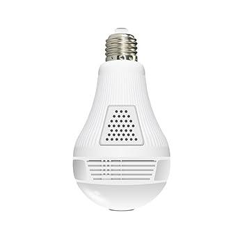 Cámara IP, Cámara Bombilla LED IMATEK X318, 1,3 megapíxeles cámara panorámica de