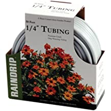 Raindrip R255DT 1/4-Inch by 50-Foot White Tubing