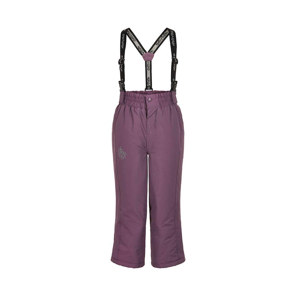 423cc60c416c Minymo TUSSOR Solid Girls  Ski Trousers Black Plum  Amazon.co.uk  Baby