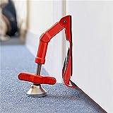 Luckhome Sturdy Convenient Anti-theft Wolf Door Lock, DoorJammer A Portable Door Lock That Lets You Lock Any Door