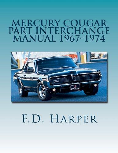 Mercury Cougar Part Interchange Manual 1967-1974 ()