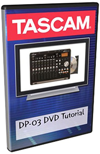 Tascam Authorized DVD Tutorial for DP-03 Recording Studio by Tascam