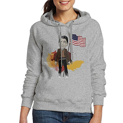 NVVM Women's US Politician Actor Pullover Hooded Sweatshirt L