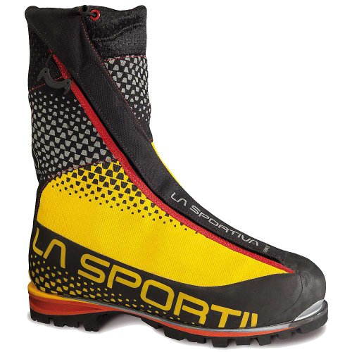 La Sportiva Batura 2.0 GTX Boot - Men's Black / Yellow - La Mountaineering Boots Sportiva
