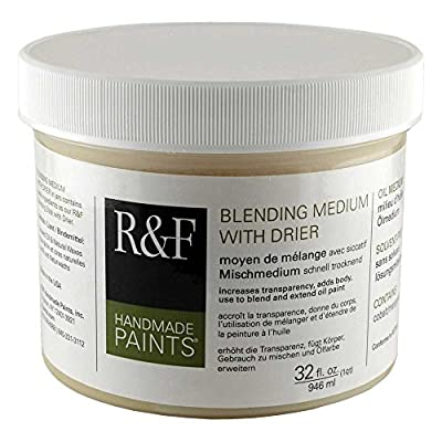 R&F 32 Oz Blending Medium W/Drier