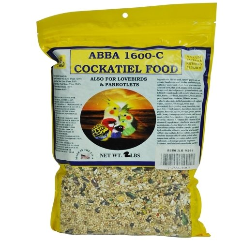 Image of Abba 1600-C Cockatiel Seed Diet 5 Lb