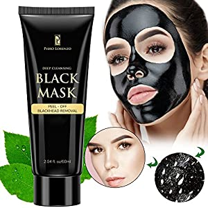 Piero Lorenzo - Blackhead Remover Black Mask Cleaner - Purifying Quality Black Peel off Charcoal Mask Best Mud Facial Mask