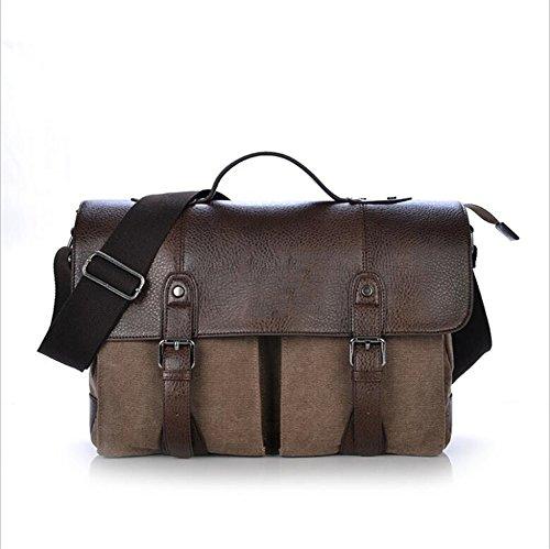 ANUAN Bolso Bandolera Diagonal Bag,Brown
