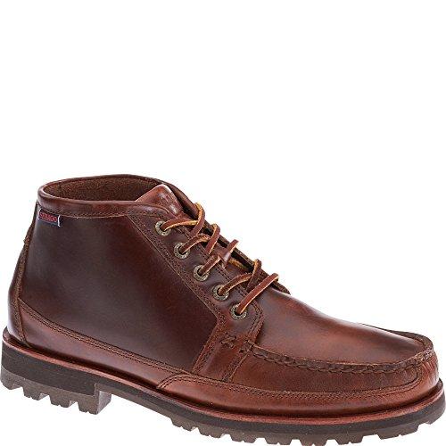 Sebago Scarpe Uomo B710042 Vershire Chukka Brown birra oliato Waxy Brown oiled Waxy Leather