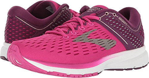 Brooks Women's Ravenna 9 Pink/Plum/Champagne 5.5 B US
